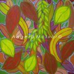 AUTUMN COLOURS, acrylic on canvas, 45x45x4cm, $100+P & H