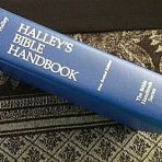 Halley's Bible Handbook ~ Written by Henry H Halley in 1924 and since there has been many, many revised versions. I have no idea whether it is still in print. The one I have is 1965. It is worth enquiring from the Christian book shops about it because it has the most amazing amount of biblical content. It has: a general view of the Bible, archeological discoveries, notes on each of the Bible books, Church history and so much more.