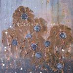 NO.1, acrylic on canvas, 50x40x2cm, $75+P&H