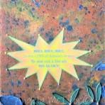 HOLY,HOLY,HOLY,acrylic, card, felt, beads, on canvas,23wx33x2cm,$50+P&H