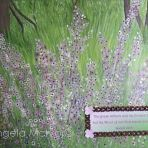 ISAIAH 40 8,40wX30X2cm,acrylic,card,ribbon,gems,on canvas,$50+P&H